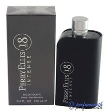 PERRY ELLIS 18 INTENSE BY PERRY ELLIS 3.4/3.3 OZ EDT SPRAY FOR MEN NEW IN BOX