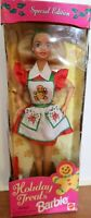 1997 Holiday Treats Barbie Doll Damaged Box