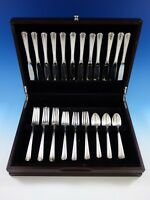 John and Priscilla by Westmorland Sterling Silver Flatware Set Service 48 Pieces