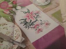 'Pretty In Pink' Joy Waldman Cross Stitch Chart(only)