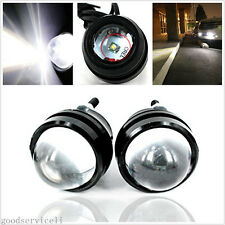 One Pair 12V-24V 5W CREE Fish/Eagle Eye Car SUV Off-Road Fog Light Working Lamps
