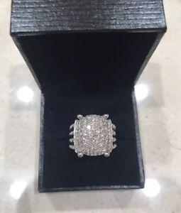 David Yurman Wheaton Ring With Diamonds Size 6 STUNNING!!!!!