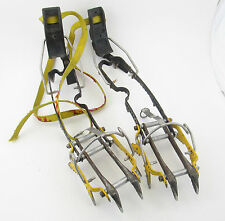 Grivel Rambo Crampons, 12 point, vertical ice climbing mountaineering alpine