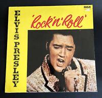 ELVIS PRESLEY ROCK 'N' ROLL LP RCA Records 1972 Vinyl Album NL89125 Germany VGC