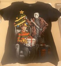 New listing Freddy Vs Jason T Shirt Friday The 13th Freddy Krueger Christmas Size Medium