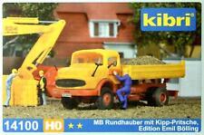 Kibri 14100 H0 - MB Rundhauber mit Kipp- Pritsche NEU & OvP