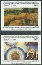 Timbres Arts Tableaux Gambie BF272/3 ** année 1995 lot 19664