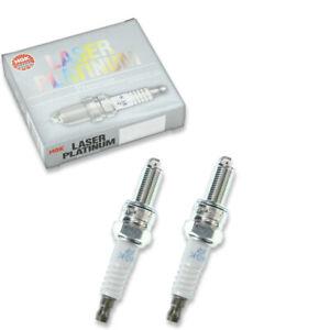 2 pcs NGK 6378 Laser Platinum Spark Plug for PMR8B 6378 192637 192637 - dm