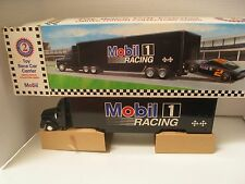 MOBIL LIMITED EDITION 1994  TOY RACE CAR CARRIER 2ND OF A SERIES ORIGINAL BOX