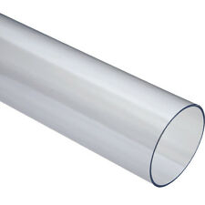 Clear Dust Collection Pipe