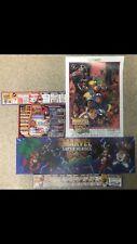Superhéroes de Marvel vs Street Fighter Juego Arcade fotos Capcom Nuevo.
