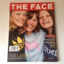 The Face Magazine - August 1999 - w/ Helmut Lang & Puff Daddy   Exc. Condition