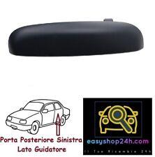 MANIGLIA APRI PORTA POSTERIORE SINISTRA NERA FIAT PANDA 2003-2012 80//490