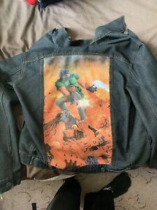 Insert Coin Doom Denim Jacket