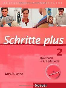 Schritte plus 2. Niveau A1/2. Kursbuch + Arbeitsb...   Buch   Zustand akzeptabel