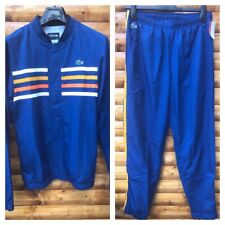 Lacoste Sport Full Tracksuit Men's Extra Small Size 2 Jacket, Small Pants Size 3