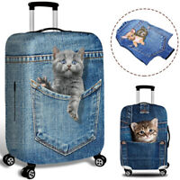 1x Cartoon Travel Luggage Cover Protector Elastic Scratch-resistant Suitcase Bag