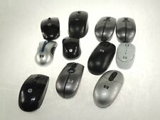 MIXED LOT of ELEVEN - HP Wireless Optical Scroll Mouse *AS IS* - No Receivers
