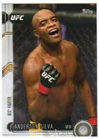 2015 Topps UFC Chronicles #35 Anderson Silva