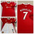 Man United Ronaldo 7 Home Kids kit 6-7 Yrs Brand New Shirt Shorts Socks Inc