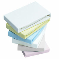 2x Fitted Sheets Compatible With Snuzpod Bedside Crib 100 % Cotton