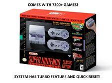 SNES Classic 7200+ Games - USB Host - N64 - Gameboy - Sega - Atari - TurboGrafx