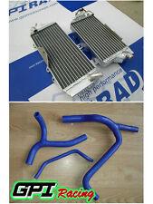 FOR KAWASAKI KXF450 KX450F 2010 -2015 2012 2013 2014 Aluminum Radiator and hose