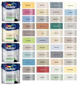 Dulux Emulsion Silk Paint ALL COLOURS 2.5L - Walls & Ceiling