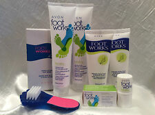 Avon Foot Works 6-piece Set - NEW!!
