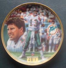 Dan Marino--Miami Dolphins--1996 Bradford Plate--NFL Quarterback Club