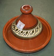 Moroccan Cooking Tagine Extra LARGE Terracotta Cook Pot Tajine Tangine Lead Free