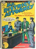 MR. DISTRICT ATTORNEY #7 * GOLDEN AGE COMICS * 1949 DC COMICS * LAW * CRIME