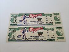 1997 Los Angeles Clippers vs Vancouver Grizzlies Full Ticket Stubs
