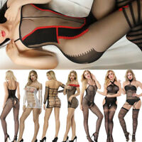 Lot Women Lingerie Fishnet Bodysuit Nightwear Underwear Babydoll DressvSleepwear