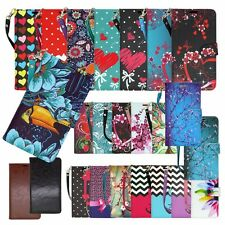 For HTC Desire 530 / HTC 630 Hybrid PU Leather Wallet Pouch Case Flip Cover