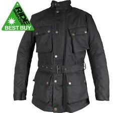 Waterproof Motorcycle Jackets Richa Wax Cotton Exact