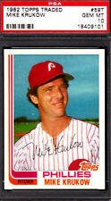 1982 Topps Traded Mike Krukow Philadelphia Phillies #59T Baseball Card