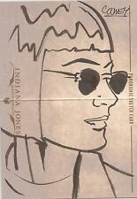 Indiana Jones Masterpieces - RARE Daniel Cooney Panoramic Sketch Card