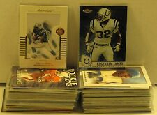 Huge 89 Card Lot Edgerrin James RC Chrome Inserts DieCut HIGH BV over $100