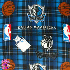 144107086- NBA Dallas Mavericks Basketball Fleece Fabric Mark Cuban By The Yard