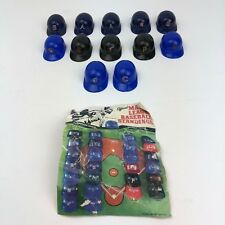 Lot of 12 Vintage Sports Product Corp Mini Baseball Helmets With Checklist Image