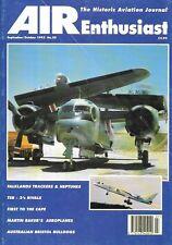 Air Enthusiast 59 Falklands Australian Bristol Bulldogs Grumman S-2E Tracker
