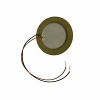 27mm Piezo Transducer with 90mm leads - Ceramic sounder pickup element pack of 2