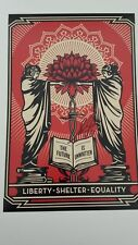 SHEPARD FAIREY signed 8x12 photo - Proof