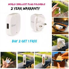 5V  USB Charger Adapter UK Plug for iPhone 5S 6 Plus Samsung - White