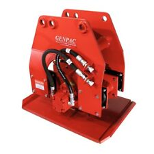 GenPac Hydraulic Plate Compactor / Pile Driver / Vinyl Sheet Driver model GE970