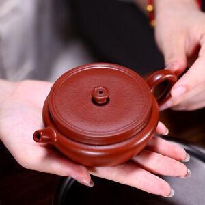 90ml full handmade tea pot marked ball shaped infuser holes master pot dahongpao