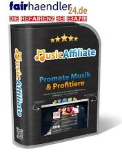 WP MUSIK AFFILIATE erstelle Review Webseite Music iTUNES AMAZON Web Projekt PLR