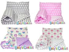 Baby's Comfort REVERSIBLE 2pcs baby bedding set DUVET/ QUILT COVER + PILLOWCASE