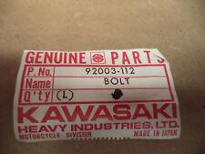 Kawasaki OEM New 6x94 bolt screw 92003-112  #7346